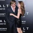 Junto a su pareja Brad Pitt, con el que mantiene una de las relaciones m&#xE1;s s&#xF3;lidas de Hollywood