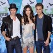 "Nina e Ian se conocieron en el rodaje de la serie ""The Vampire Diaries"""
