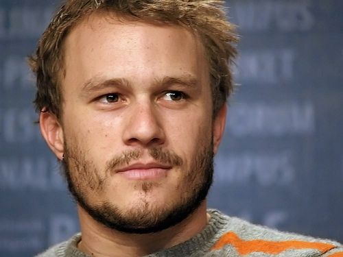 Heath Ledger, Naomi Watts, Michelle Williams - El &quot;Joker&quot; de &quot;Batman&quot; sin maquillaje