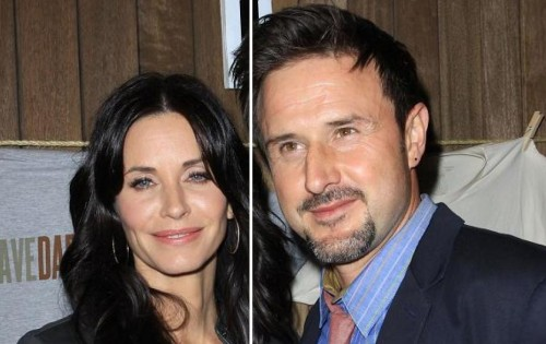 David Arquette, Courteney Cox, Jennifer Aniston - Courteney y David se separaron a principios de mes.